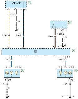 Схема 26в. Указатели поворотов