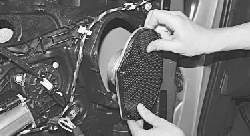 Снятие и установка динамиков акустической системы