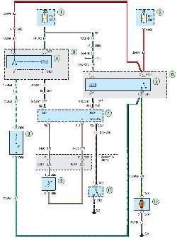 Схема 8б. Система охлаждения