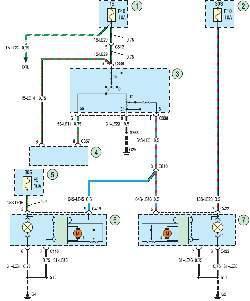 Схема 22б. Блок-фары