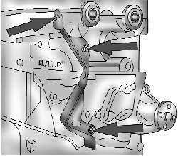 Задняя крышка ремня привода газораспределительного механизма