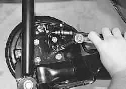 Замена датчиков частоты вращения колес