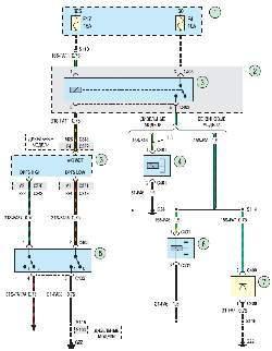 Схема 18в. Система кондиционирования воздуха