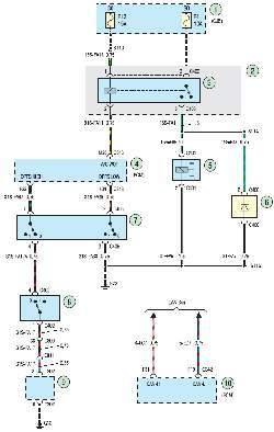 Схема 2е. Система управления двигателем