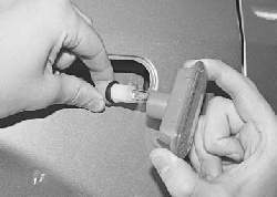 Замена бокового фонаря указателя поворота