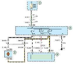 Схема 29. Стеклоомыватель