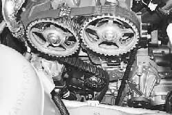 Проверка ремня привода газораспределительного механизма