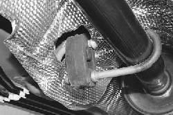 Замена подушек подвески системы выпуска отработавших газов