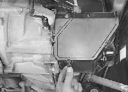 Замена тросов управления коробкой передач