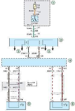 Схема 6. Система зажигания