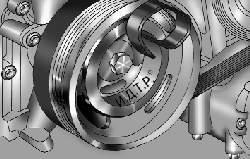 Установка приспособления для монтажа ремня привода насоса гидроусилителя рулевого управления на шкив коленчатого вала