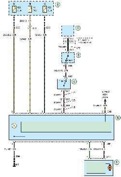 Схема 18б. Система кондиционирования воздуха