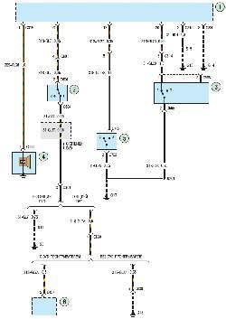 Схема 12б. Противоугонная система