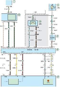 Схема 2г. Система управления двигателем