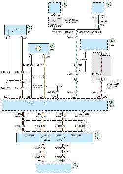Схема 2д. Система управления двигателем