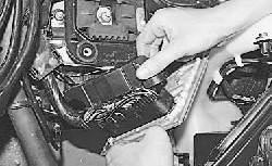 Замена электронного блока управления двигателем