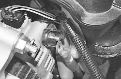 Снятие и установка генератора