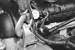 Снятие и установка двигателя