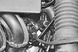 Пуск двигателя от внешних источников тока
