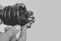 Замена шаровых шарниров равных угловых скоростей