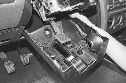 Снятие и установка рулевой колонки