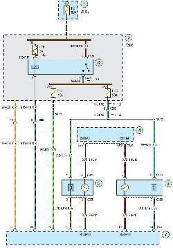 Схема 2а. Система управления двигателем
