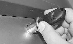 Замена замка двери задка