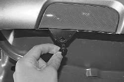 Снятие и установка заднего бампера