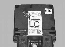 Снятие и установка электронного блока управления дополнительной системой пассивной безопасности
