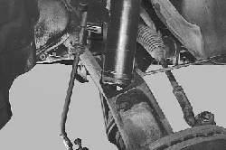 Снятие и установка амортизаторной стойки
