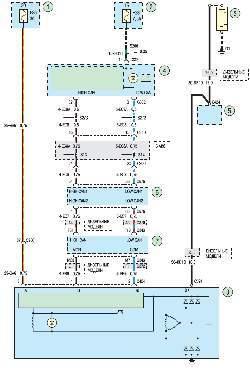 Схема 5б. Система зарядки
