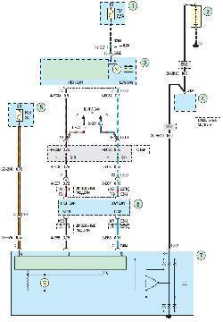 Схема 5а. Система зарядки