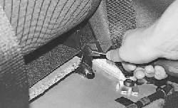 Снятие и установка облицовок салона