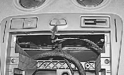 Замена выключателя аварийной сигнализации