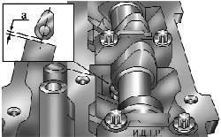 Измерение зазора в приводе клапана