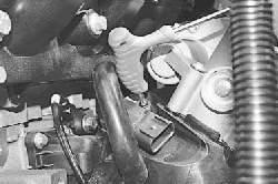 Проверка и замена датчиков системы управления двигателем