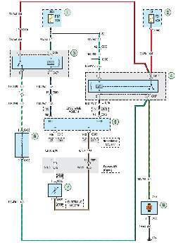 Схема 18г. Система кондиционирования воздуха
