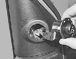 Снятие и установка наружного зеркала