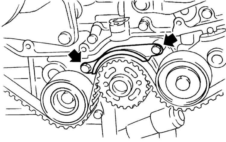 Manual.CountryAuto.ru :: Subaru :: Legacy / Outback :: Снятие и установка ремня привода ГРМ, проверка состояния компонентов