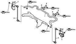 Детали штанги стабилизатора передней подвески и/или втулок