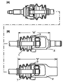 Схема установки большого хомута и чехла на корпус шарнира