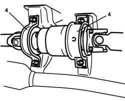 Кронштейны центральной опоры карданного вала
