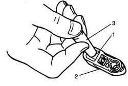 Извлечение держателя наконечника троса