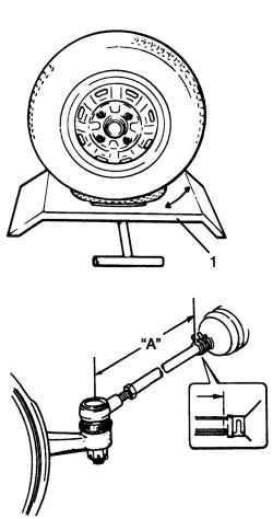 Проверка и регулировка углов поворота управляемых колес