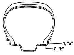 Схема измерения биения дисков