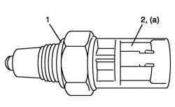 Новое уплотнительное кольцо выключателя света заднего хода