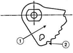 Регулировка рычага пластинчатой пружины