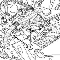 Снятие верхних шпилек крепления картера коробки передач