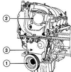Снятие шкива коленчатого вала, верхней и нижней крышки привода ГРМ