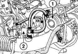 Электромагнитный клапан регулирования давления наддува
